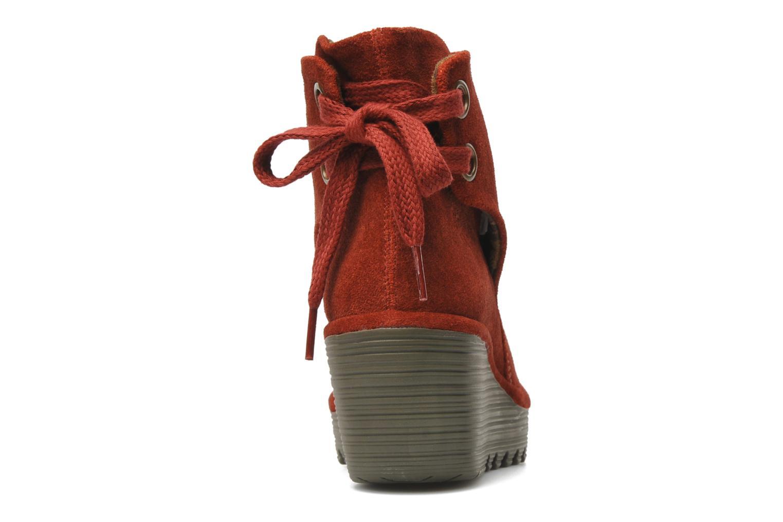 Stiefeletten & Boots Fly London Yama rot ansicht von rechts