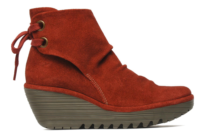Stiefeletten & Boots Fly London Yama rot ansicht von hinten