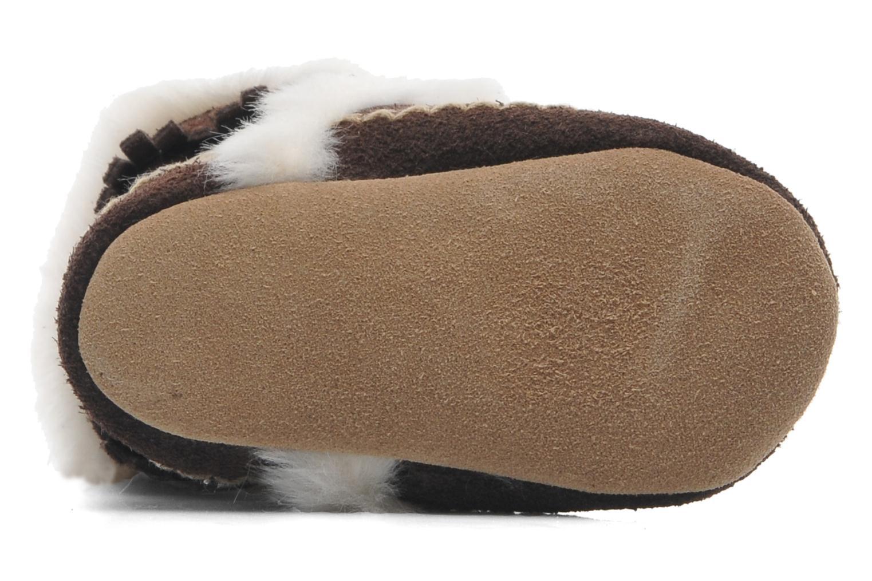 Pantoffels Robeez FAB FOLK BOOTIE Bruin boven