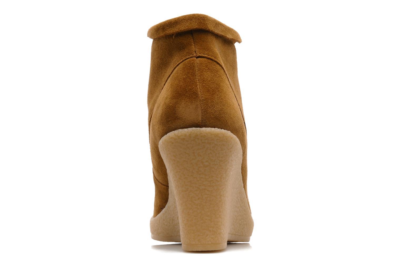 Bottines et boots Mellow Yellow Missyou Marron vue droite
