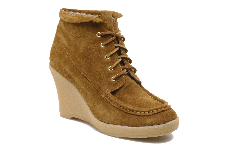 Bottines et boots Mellow Yellow Missyou Marron vue détail/paire