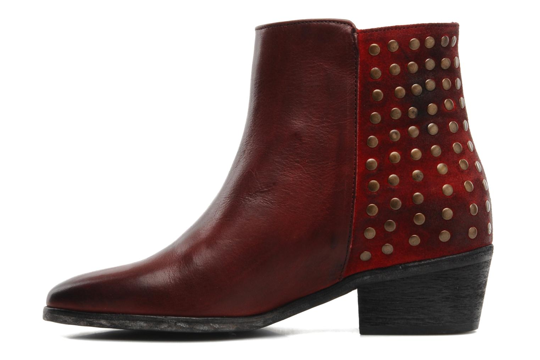 Stiefeletten & Boots Pastelle Maureen weinrot ansicht von vorne