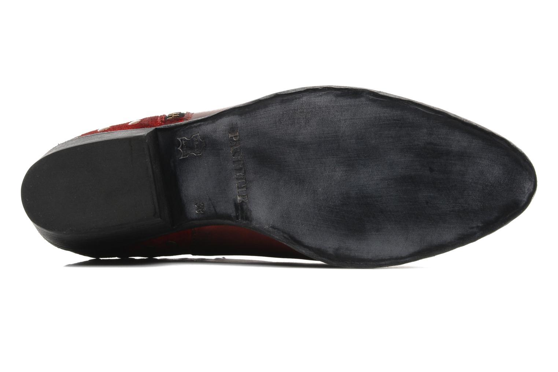 Bottines et boots Pastelle Maureen Bordeaux vue haut