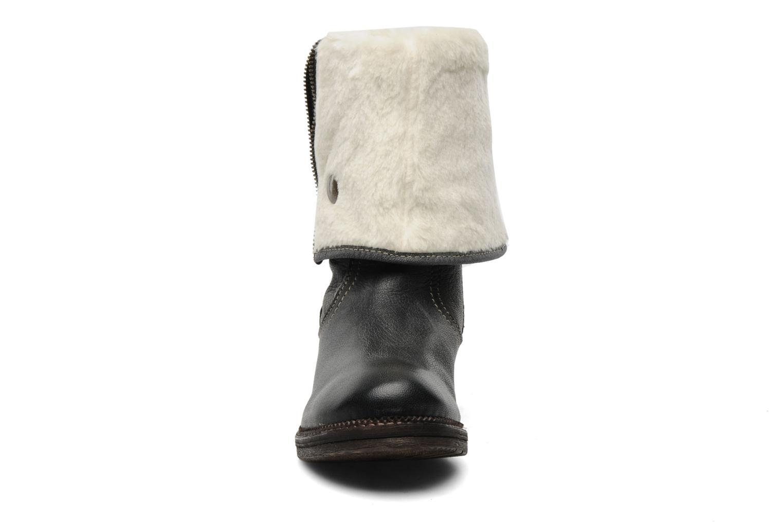 Stiefeletten & Boots Manas Leriado schwarz schuhe getragen