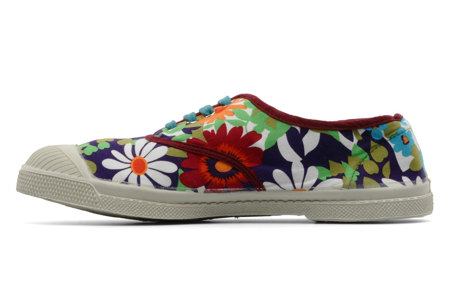 Sneakers Bensimon Tennis Fleurs Exclu Multicolore immagine frontale