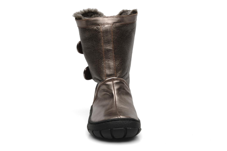 Stiefel Pom d Api Piwi chabraque bis gold/bronze schuhe getragen
