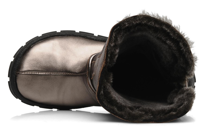 Bottes Pom d Api Piwi chabraque bis Or et bronze vue gauche