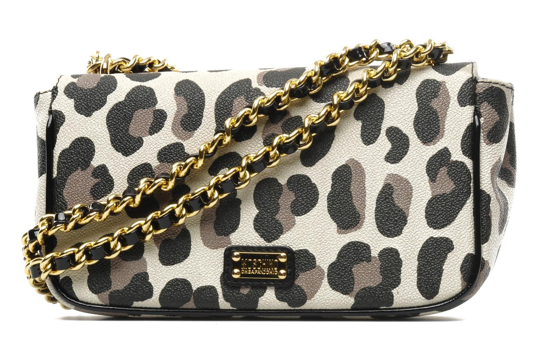 Handtaschen Moschino Cheap & Chic Maculato PVC Borsa Tracolla mehrfarbig ansicht von vorne