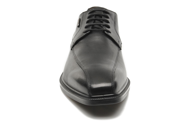 Schnürschuhe Geox U ALEX A ABX A U44C4A schwarz schuhe getragen