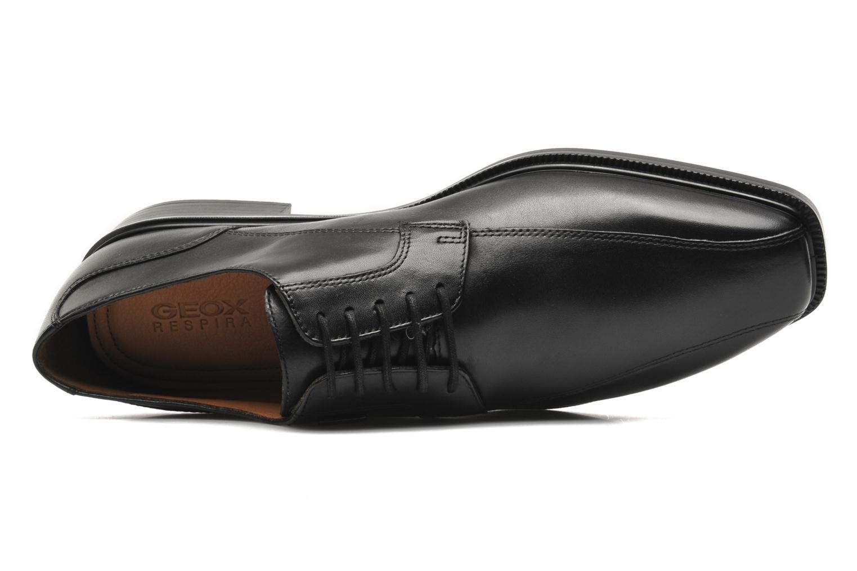 Zapatos con cordones Geox U ALEX A ABX A U44C4A Negro vista lateral izquierda