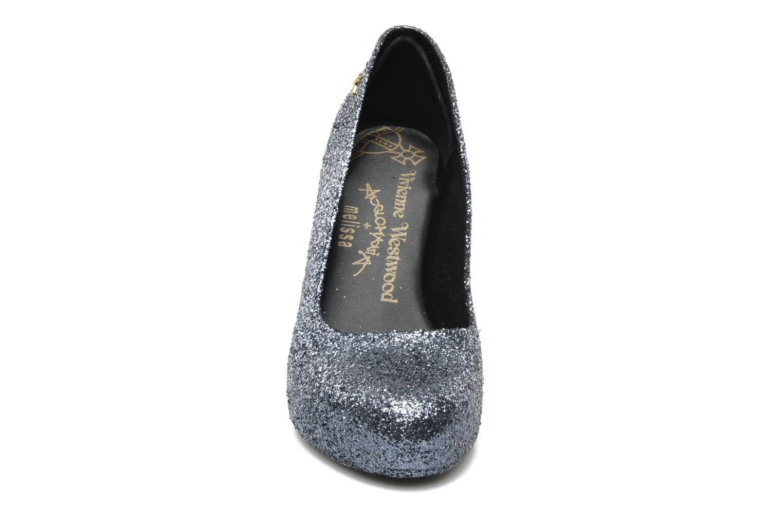 Zapatos de tacón Melissa Vivienne Westwood + Melissa Skyscraper III Plateado vista del modelo