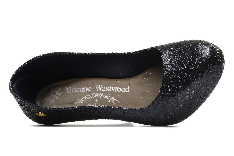 Zapatos de tacón Melissa Vivienne Westwood + Melissa Skyscraper III Negro vista lateral izquierda