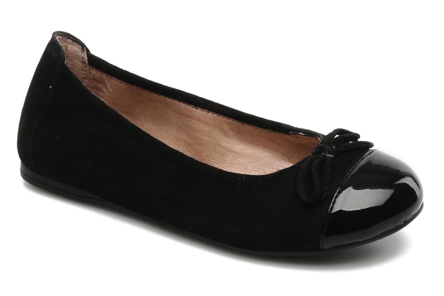 Ballet pumps Unisa Cino Black detailed view/ Pair view