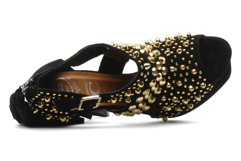 Zapatos de tacón Jeffrey Campbell Pony-Tail Negro vista lateral izquierda