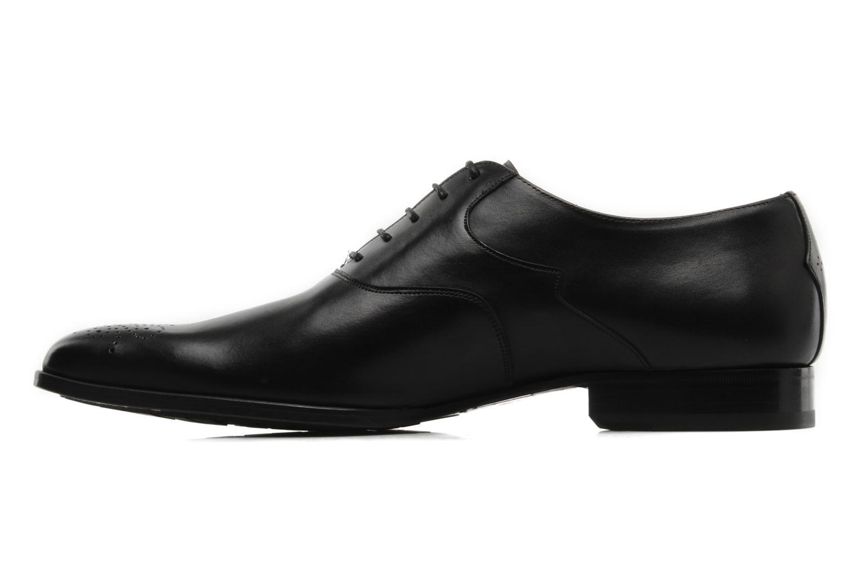Chaussures à lacets Finsbury Winner Noir vue face