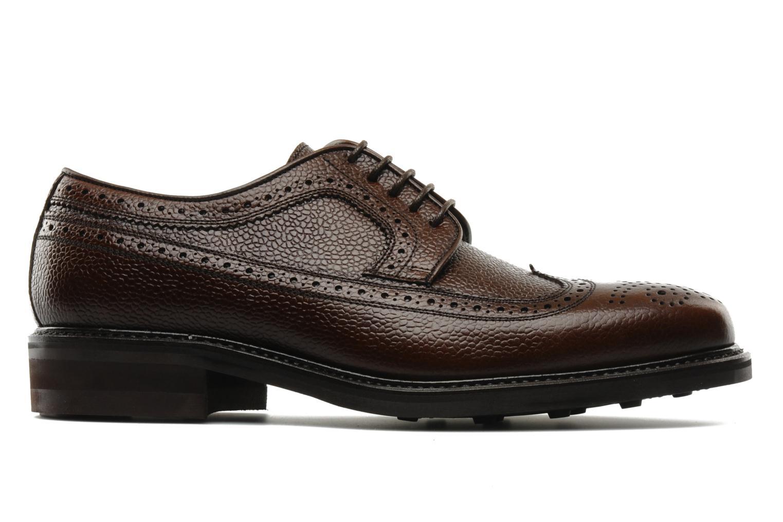 Chaussures à lacets Finsbury Barton Marron vue derrière