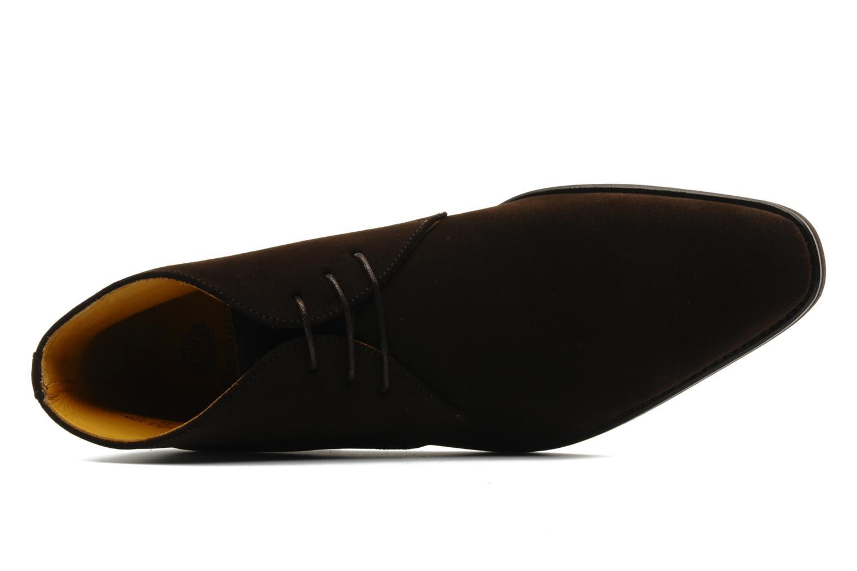 Chaussures à lacets Finsbury Chukka Marron vue gauche