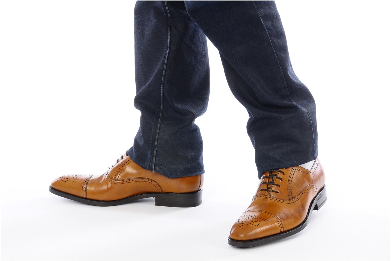 Scarpe con lacci Finsbury Diplomate Marrone immagine dal basso