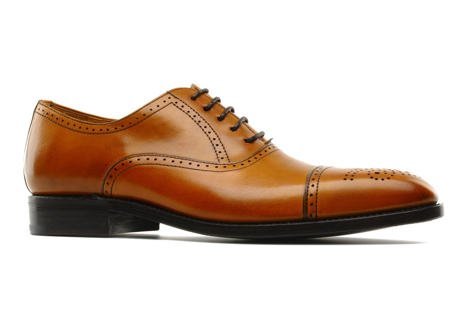 Lace-up shoes Finsbury Diplomate Brown back view