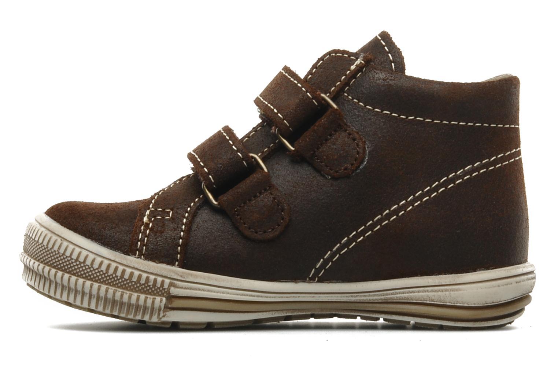 Chaussures à scratch Bopy Belivel Marron vue face