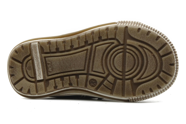 Chaussures à scratch Bopy Belivel Marron vue haut