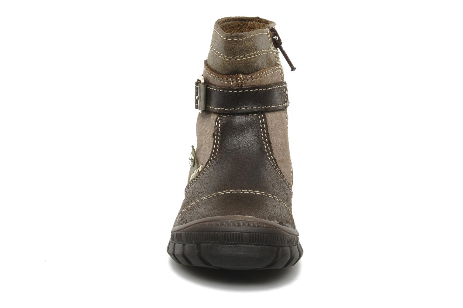 Ankle boots Bopy Bocari Brown model view