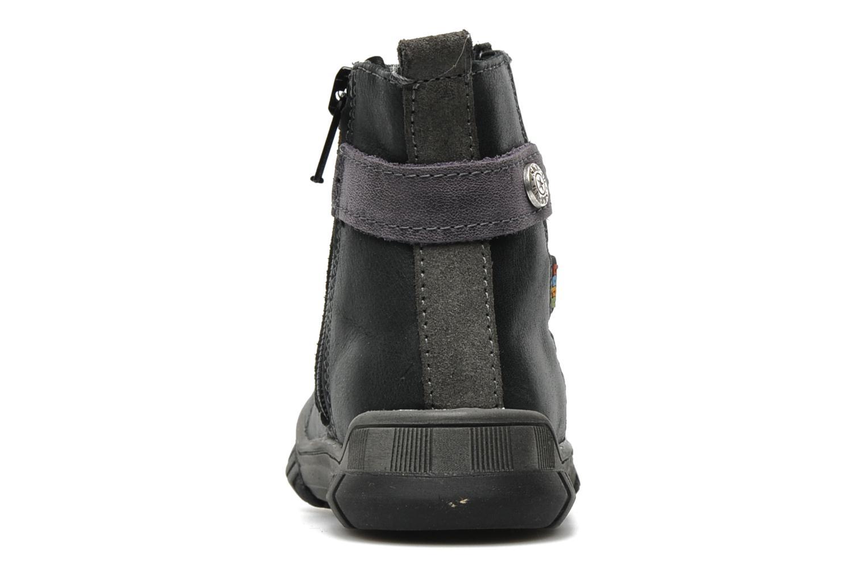 Bottines et boots Bopy Borg Gris vue droite