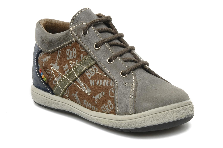 Bottines et boots Bopy Zevis Marron vue détail/paire