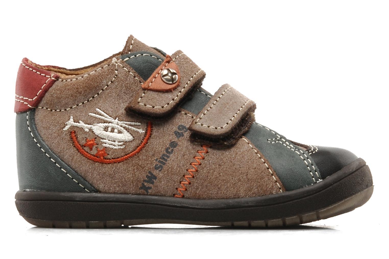 Chaussures à scratch Bopy Zirvel Marron vue derrière