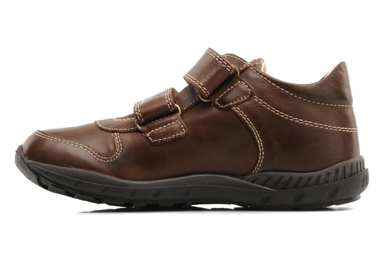 Sneaker Primigi Roky braun ansicht von vorne