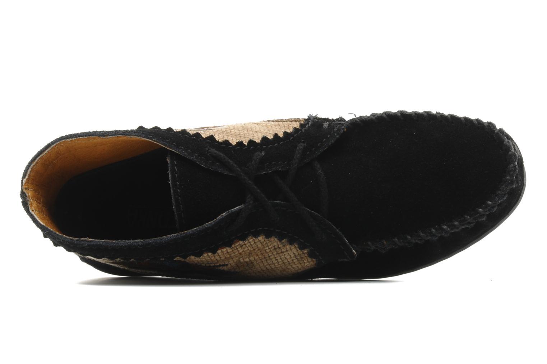 Bottines et boots Minnetonka EL PASO ANKLE BOOT Noir vue gauche