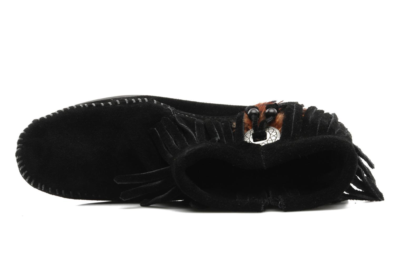 Boots en enkellaarsjes Minnetonka CONCHOFEATHER BT Zwart links