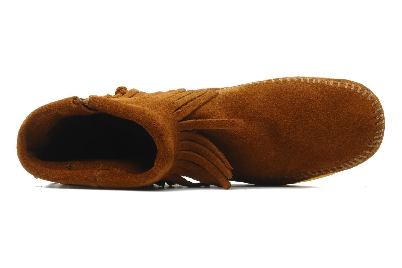 Stiefeletten & Boots Minnetonka CONCHOFEATHER BT braun ansicht von links