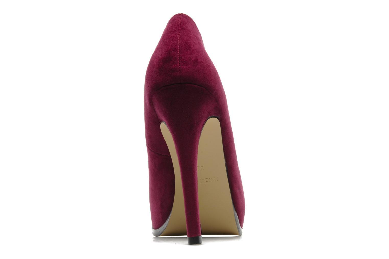 Décolleté I Love Shoes Nine Bordò immagine destra