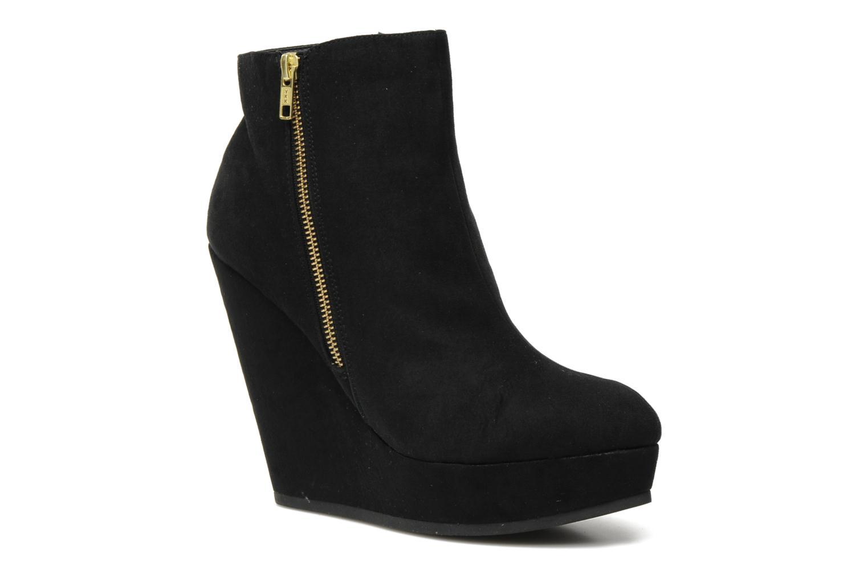 Boots en enkellaarsjes I Love Shoes Needed Zwart detail