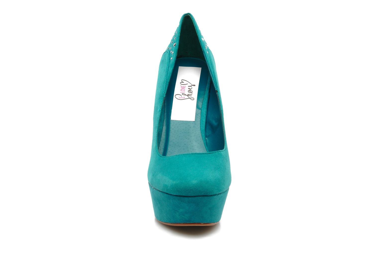 Escarpins I Love Shoes Nydo Bleu vue portées chaussures
