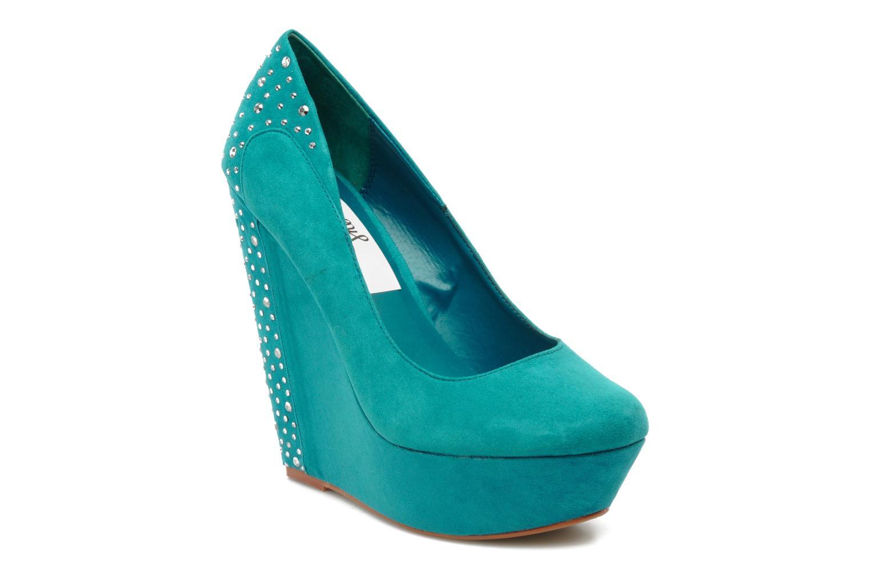 Escarpins I Love Shoes Nydo Bleu vue détail/paire