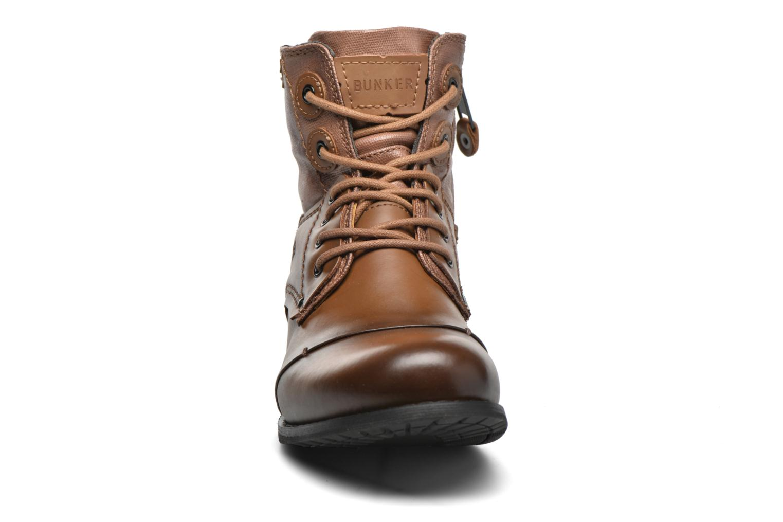 Bottines et boots Bunker Sara sar Marron vue portées chaussures