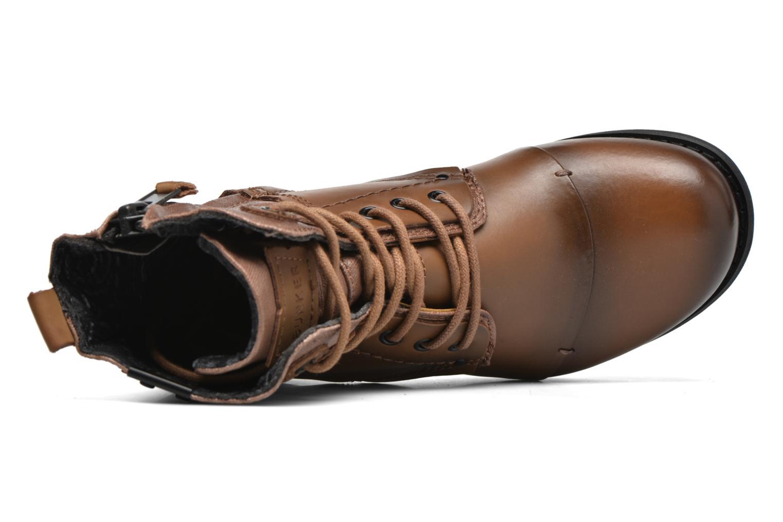Bottines et boots Bunker Sara sar Marron vue gauche