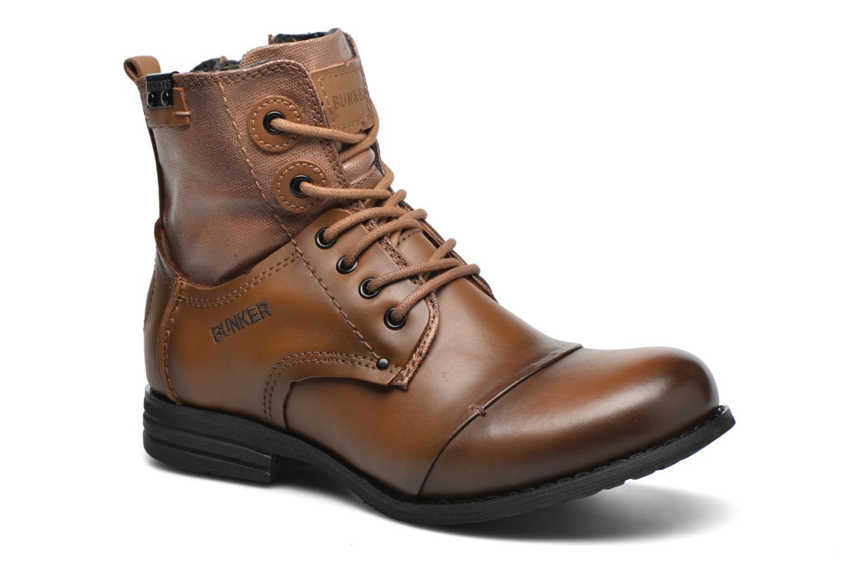 Bottines et boots Bunker Sara sar Marron vue détail/paire