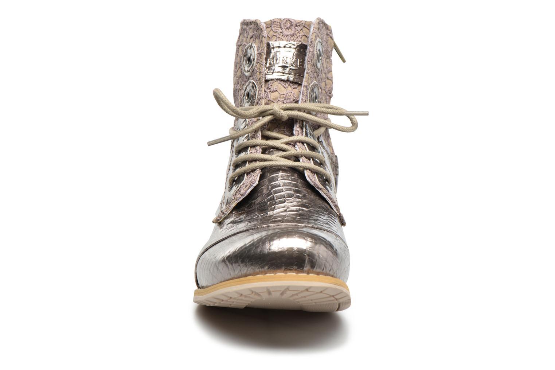 Bottines et boots Bunker Sara sar Argent vue portées chaussures