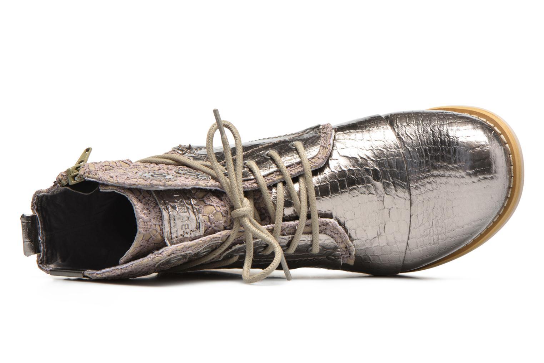 Bottines et boots Bunker Sara sar Argent vue gauche