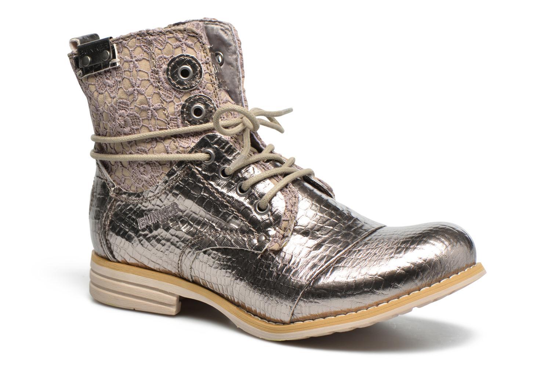 Bottines et boots Bunker Sara sar Argent vue détail/paire