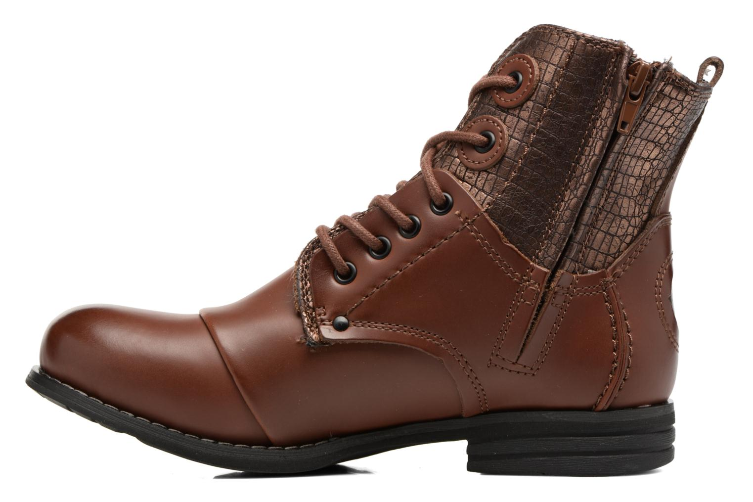 Ankle boots Bunker Sara sar Brown front view