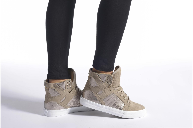 Sneakers Supra Skytop w Rood onder