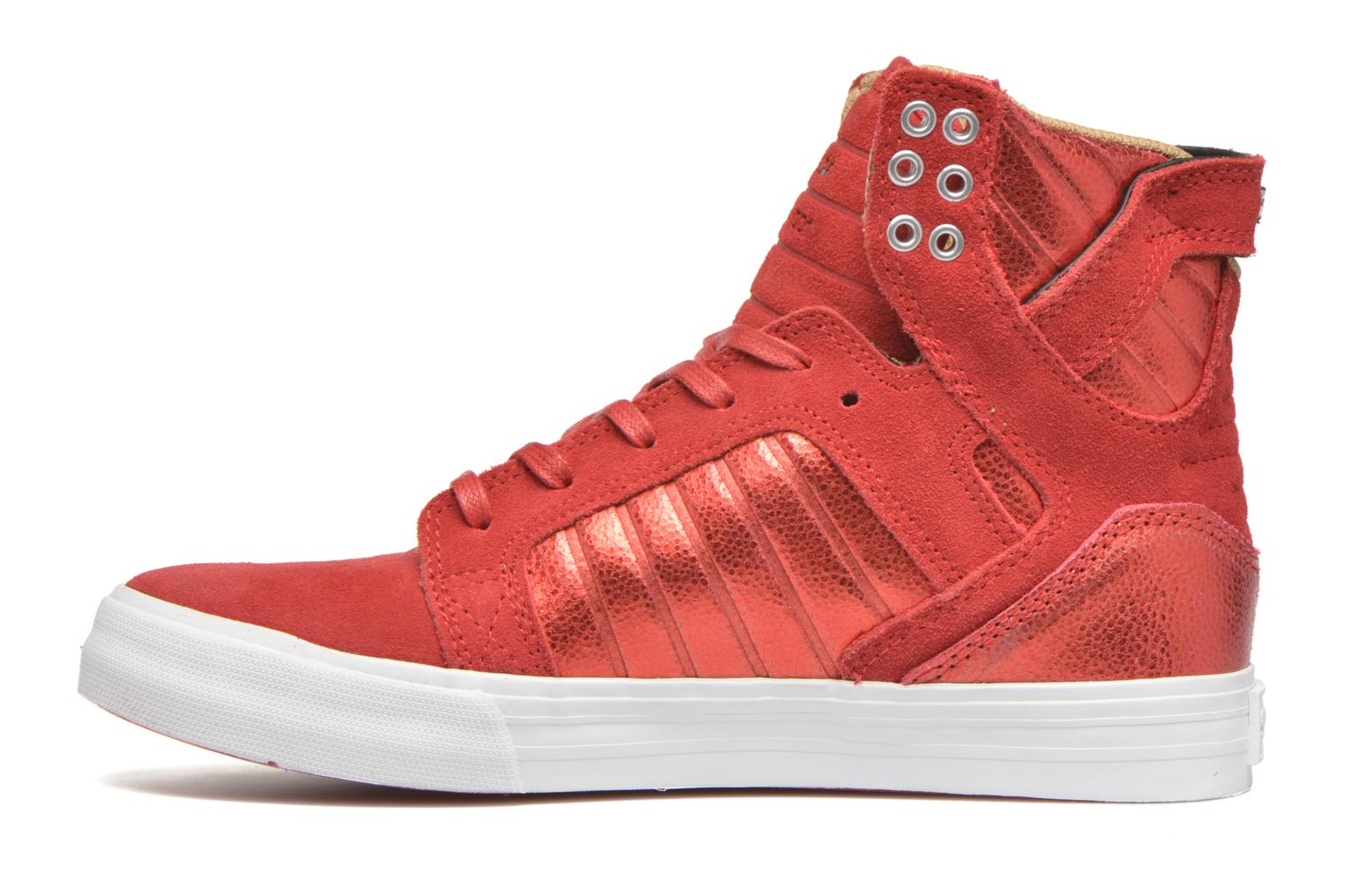 Baskets Supra Skytop w Rouge vue face