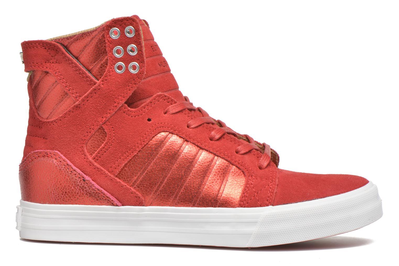 Sneakers Supra Skytop w Rood achterkant