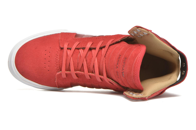Sneakers Supra Skytop w Rood links