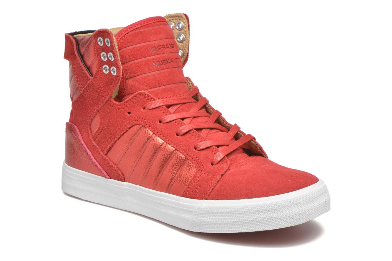 Sneakers Supra Skytop w Rood detail