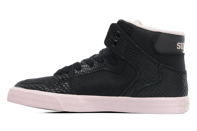 Sneaker Supra Vaider w schwarz ansicht von vorne